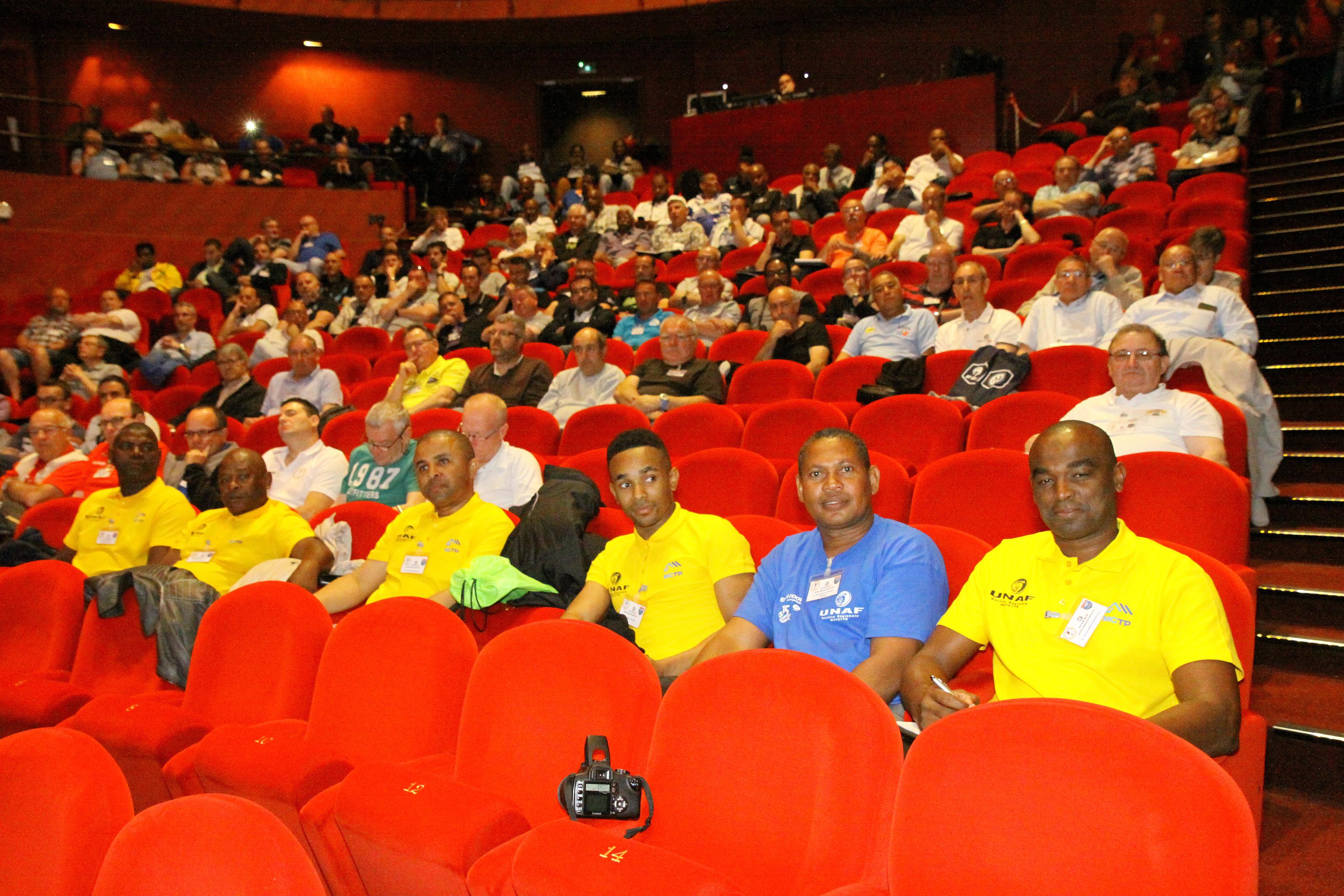 à Bastia lors du Congrès 2016