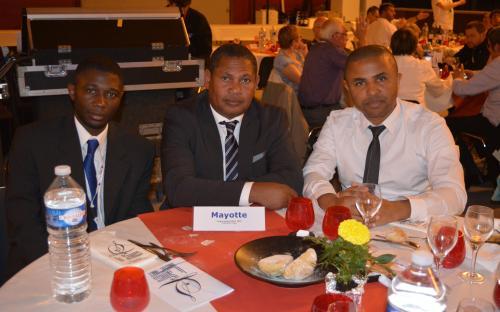 Le trio de la SR de Mayotte
